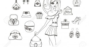 12743938-Fashion-shopping-icon-doodle-set--Stock-Vector-fashion-cosmetics-jewelry